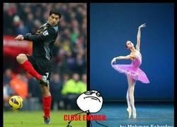 Enlace a Suárez y el ballet