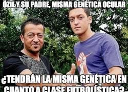 Enlace a Özil y su padre