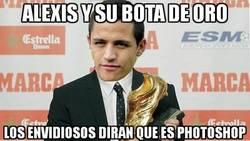 Enlace a Alexis y su bota de oro