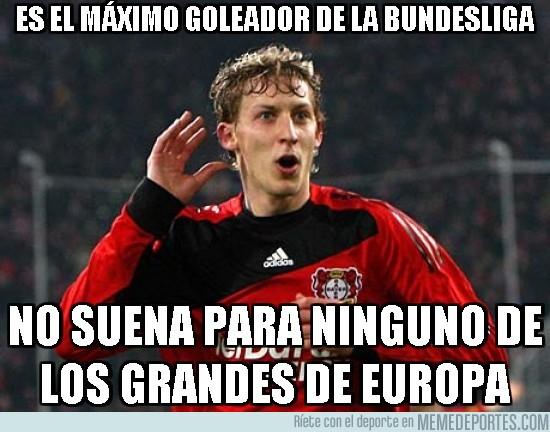 137829 - Es el máximo goleador de la bundesliga