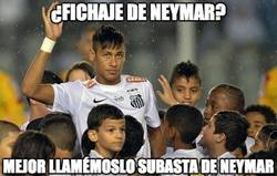 Enlace a Neymar al mejor postor, esto no es fichaje ni es nada