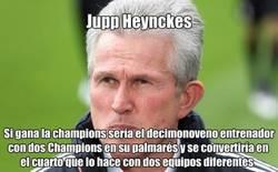 Enlace a Jupp Heynckes, preparado para hacer historia