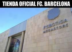 Enlace a Parece que la tienda del Barça nos está queriendo decir algo