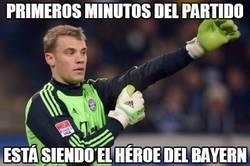 Enlace a Primeros minutos del partido y de momento Neuer está siendo el héroe #UCLfinal