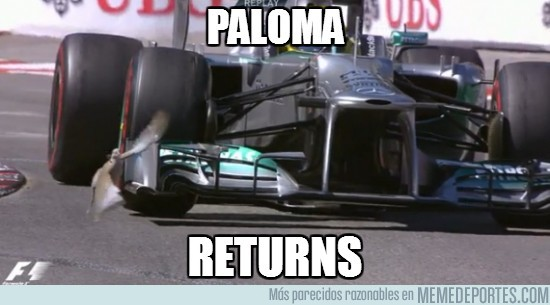 139867 - La paloma vuelve a la F1