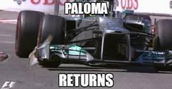 Enlace a La paloma vuelve a la F1