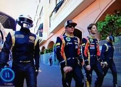 Enlace a Daft Punk de paseo por Mónaco
