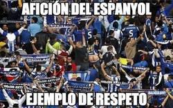 Enlace a Afición del Espanyol, ante el pasillo al Barça