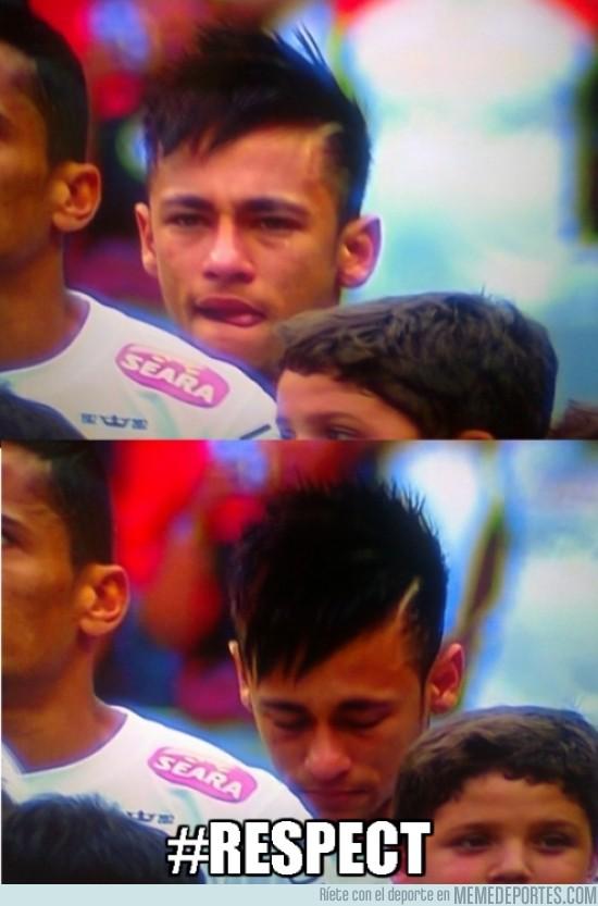 140225 - Neymar en su último partido con el Santos