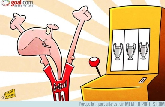 140856 - Por fin Robben se alzó con la Champions