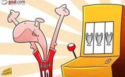 Enlace a Por fin Robben se alzó con la Champions