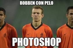 Enlace a Robben con pelo
