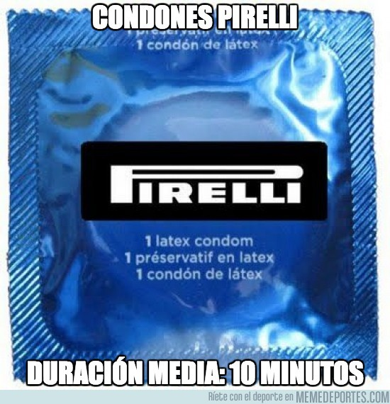 140920 - Condones Pirelli