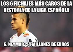 Enlace a Los 6 fichajes más caros de la historia de la liga española
