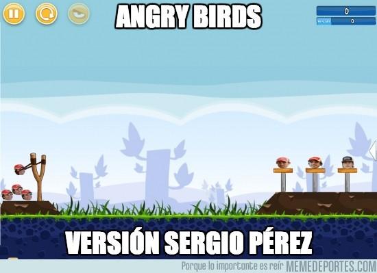 141559 - Angry Birds, versión Sergio Pérez