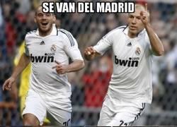 Enlace a Si la Champions quieres conseguir, del Madrid debes huir