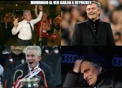 Enlace a Mourinho al ver bailar a Heynckes