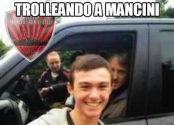 Enlace a Trolleando a Mancini con estilo