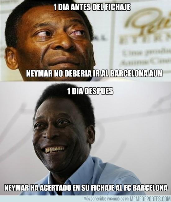 141956 - Pelé, un poco de consistencia