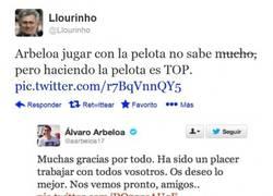 Enlace a Arbeloa y su habilidad pelotera por @Llourinho
