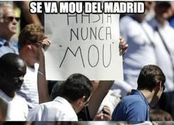Enlace a Se va Mou del Madrid, la afición totalmente dividida