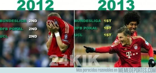 143816 - Y tras quedar segundos en todo, este año el Bayern se lleva el triplete