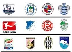 Enlace a Equipos descendidos de las grandes ligas Europeas 2012/2013