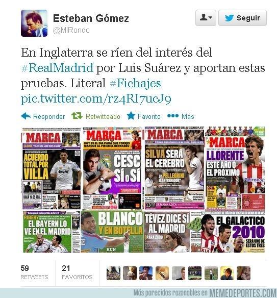 144499 - Así ven en Inglaterra el interés por Suárez del Madrid