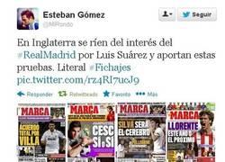 Enlace a Así ven en Inglaterra el interés por Suárez del Madrid