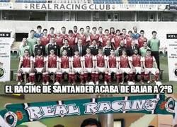 Enlace a El Racing de Santander acaba de bajar a 2ªB. ¡Gracias Apu!