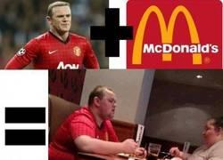 Enlace a Wayne Rooney + McDonald's