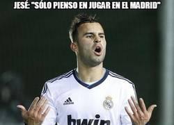 Enlace a Jesé sólo piensa en el Madrid