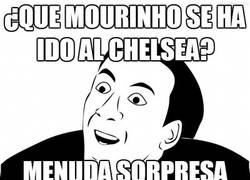 Enlace a ¿Que Mourinho se ha ido al Chelsea?