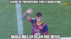 Enlace a Acaba de presentarse con el Barça