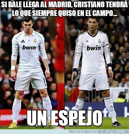 145881 - Si Bale llega al Madrid, Cristiano tendrá lo que siempre quiso en el campo