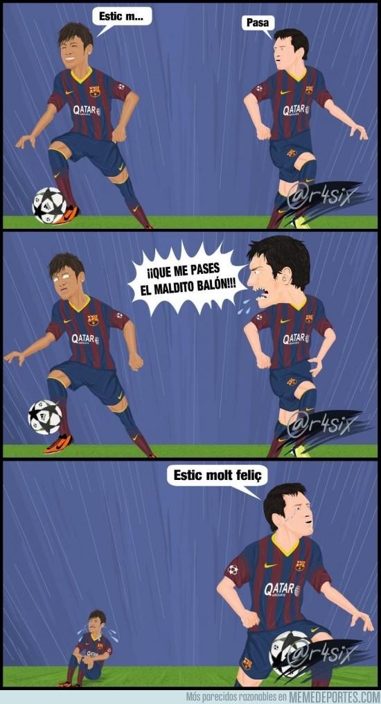 146204 - Neymar y Messi ya se entienden a la perfección por @r4six