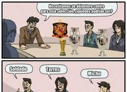 Enlace a Así están en la selección española