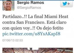 Enlace a Bien Ramos, bien, gafando a los Miami Heat. Y... ¿San Francisco?