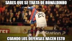 Enlace a Entonces sabes que se trata de Ronaldinho