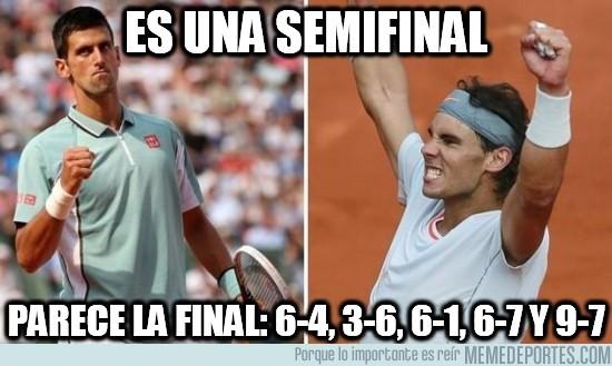 146897 - ¿Semifinal de Roland Garros?