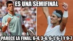 Enlace a ¿Semifinal de Roland Garros?