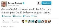 Enlace a Ramos la lía otra vez en twitter [Fake colado al mundodeportivo]