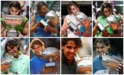 Enlace a Los 8 Roland Garros de Nadal