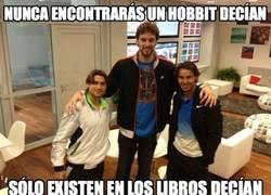 Enlace a Los Hobbits no existen, decían