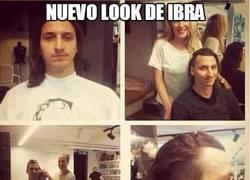 Enlace a Nuevo look de Ibra