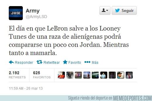 148551 - Jordan vs LeBron por @ArmyLSD