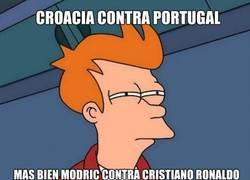 Enlace a Más bien Modric contra Cristiano
