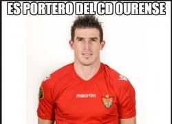 Enlace a Es portero del CD Ourense