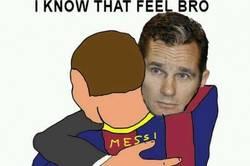Enlace a Messi y su nuevo coleguita