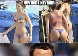 Enlace a Novia de Neymar